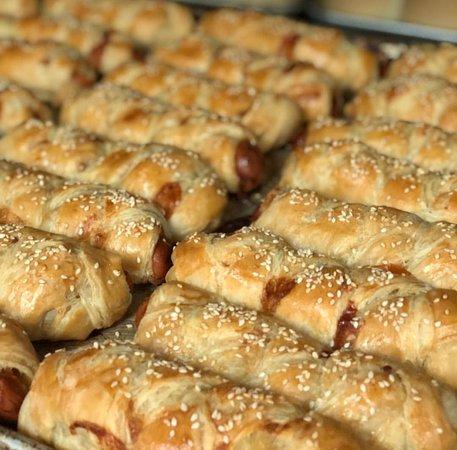 Chaguanas, Trinidad: Chicken Sausage Rolls