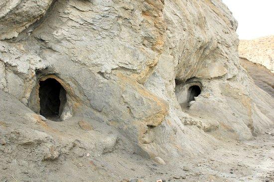 Malcamino's: Trous creusés par les Maures pour filtrer l'eau