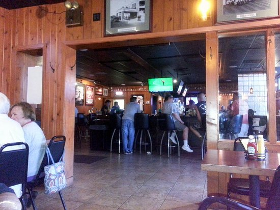 Northfield, IL: from the dining area in to the bar at Stormy's Tavern & Grille
