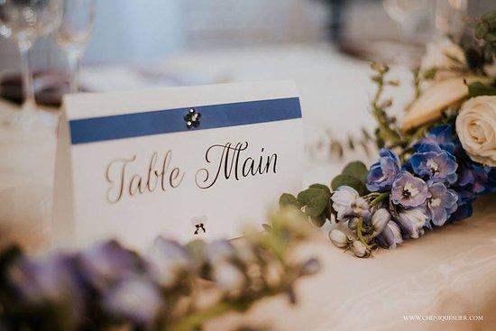 The Estuary Hotel & Spa: Wedding Decor - Admiral Room
