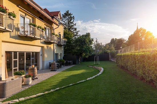 Gumpoldskirchen, النمسا: Aussenbereich