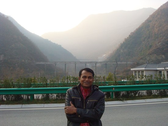 Foping County, China: Qinling Mountains