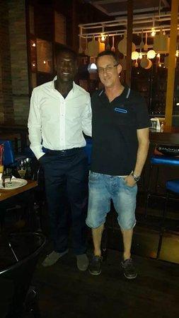 Clarence Seedorf in Azzurro