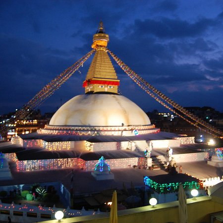 Fantastic view of the stupa