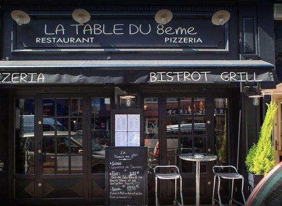 La Table Du 8eme Marseille