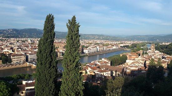 Villa Bardini: Panorama dalla Terrazza