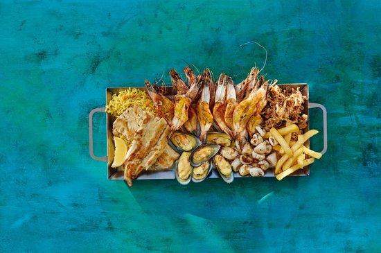 Ocean Basket Lakefield: Platter for 2
