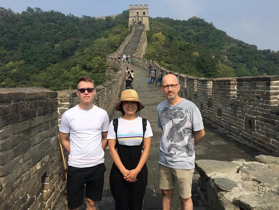 Last Day Of The Tour At Mutianyu Great Wall With Lina