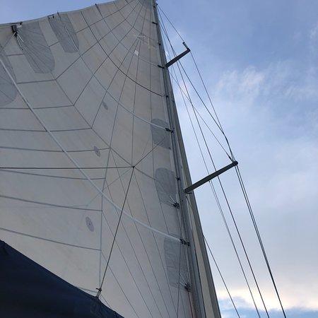 EVJF avec Bruno à bord de son voilier