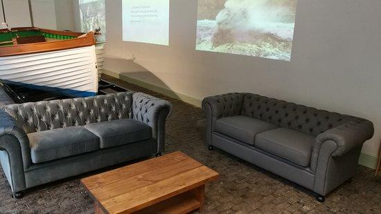 Weston Museum: Comfy sofas