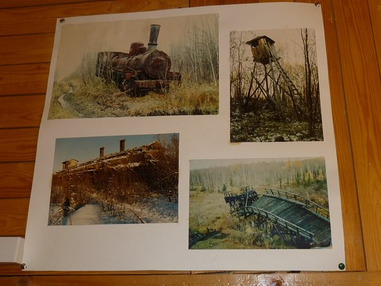 Igarka, Russia: Doku der Stalin-Eisenbahn