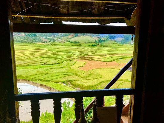 Mu Cang Chai, Βιετνάμ: view from Pine room