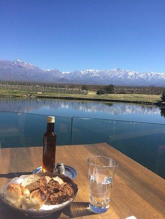 Los Chacayes, Argentina: Vista impagável!