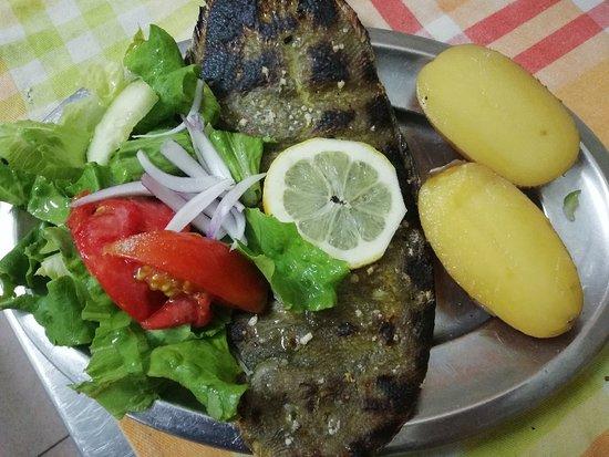 Pedrogao, Portugalia: Se você quiser comer bem venha ao Restaurante Âncora, estava tudo muito bom....!