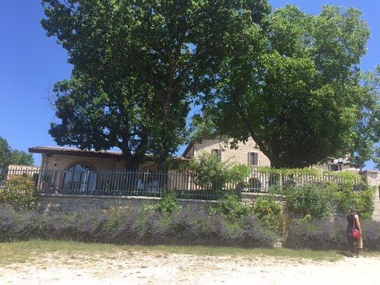 San Giuliano del Sannio, Italien: View from parking area