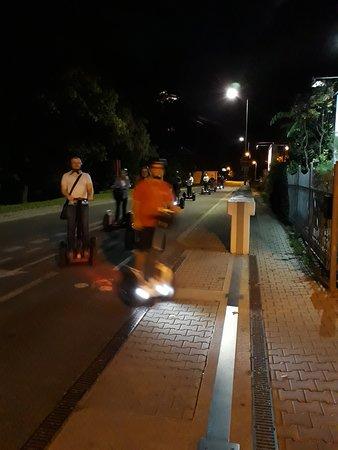 Bratislava Region, Slovakia: our night ride