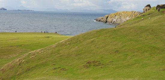 La costa prossima al castello Duntulm