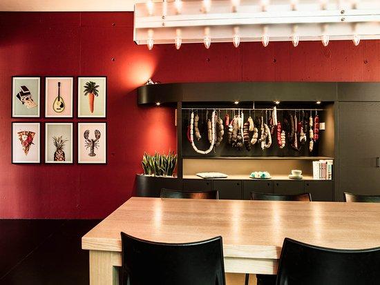 Rüschlikon, Suíça: Belvoir Restaurant & Grill_Eingang Grillbereich