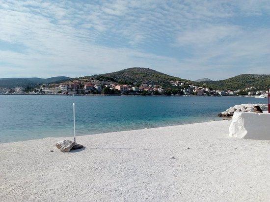 Marina, Kroasia: 14.09.2018 Außerhalb der Saison