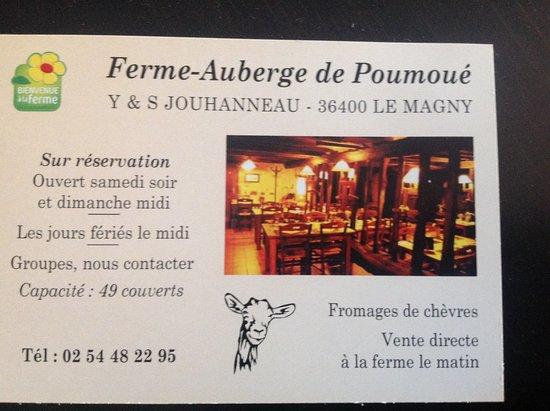 Le Magny, Frankrike: Horaires et conditions ouverture