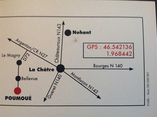 Le Magny, Frankrike: Suivez le guide....