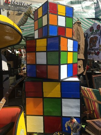 The Greenwich Vintage Market: Rubix Storage