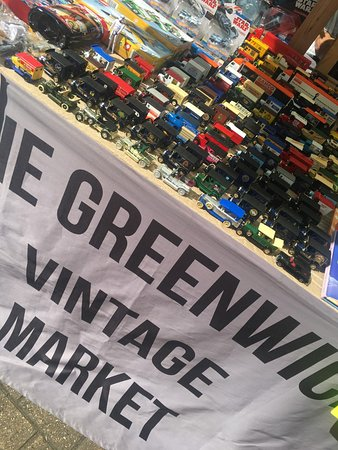 The Greenwich Vintage Market: Model Cars