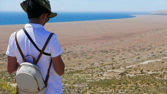 Punta Ninfas, Argentinien: El Pedral, Hotel & Día de campo y Pingüinos