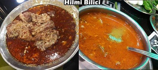Elbistan, Turkey: Belki de antalyada en özledigim yöresel yemek diyebilirim... Kelle paça...