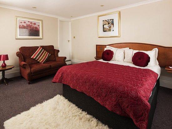 Newton Solney, UK: Guest room