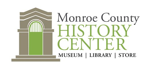 Bloomington, Индиана: Monroe County History Center logo