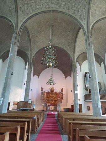 Bielefeld, Tyskland: В церкви