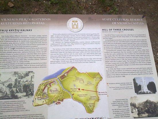 Трёхкрестовая гора: na górze