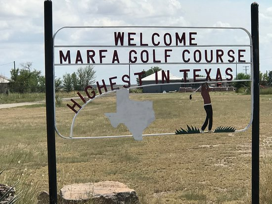 Marfa, TX: Highest in Texas!
