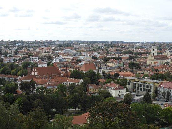 Трёхкрестовая гора: widok z góry