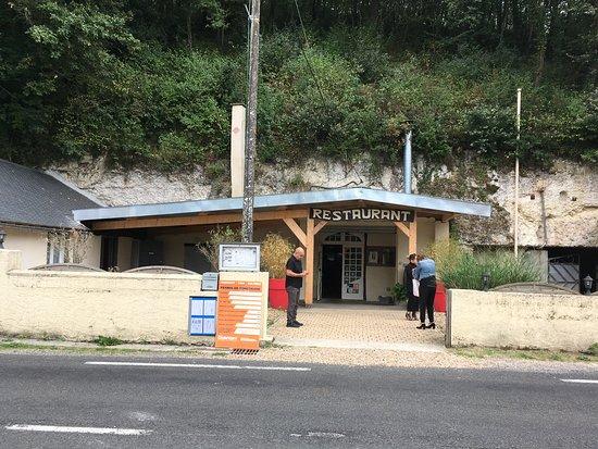 Mosnes, França: Entree du restaurant