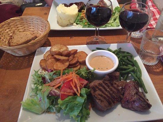 Le Jardin d'en Face: Secondo piatto carne