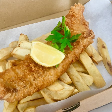 Prestwich, UK: Chips @ No. 8