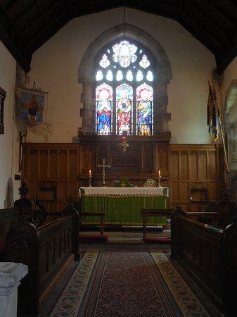 Ingleton, UK: Altar area.