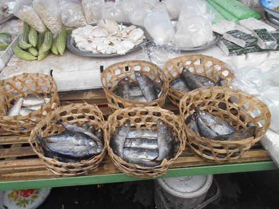 Baturiti Market: Salted Fish