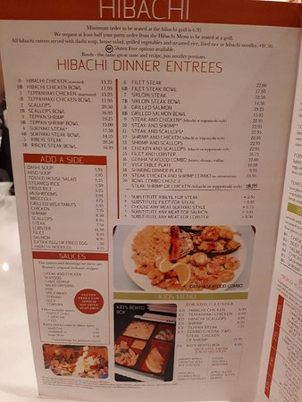20180911 192751 Large Jpg Picture Of Bonsai Japanese Steakhouse Clinton Tripadvisor
