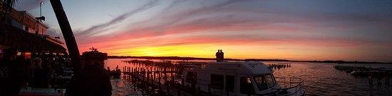 Antioch, IL: Blarney Island at sunset