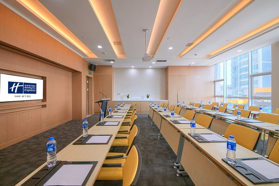 Yichuan County, China: Meeting room