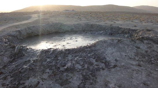 Qobustan, أذربيجان: грязевой вулкан