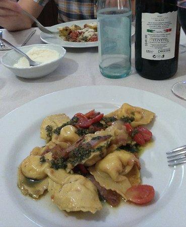 Bigarello, Italia: Ravioli straordinari