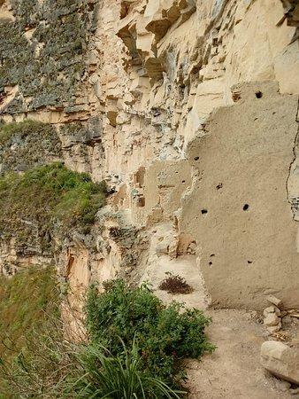 Lamud, Perú: camino entre habitaciones