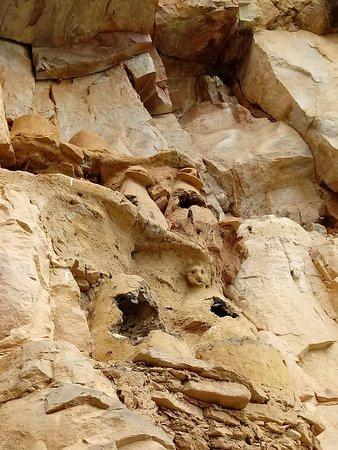 Lamud, Perú: momias saquedas