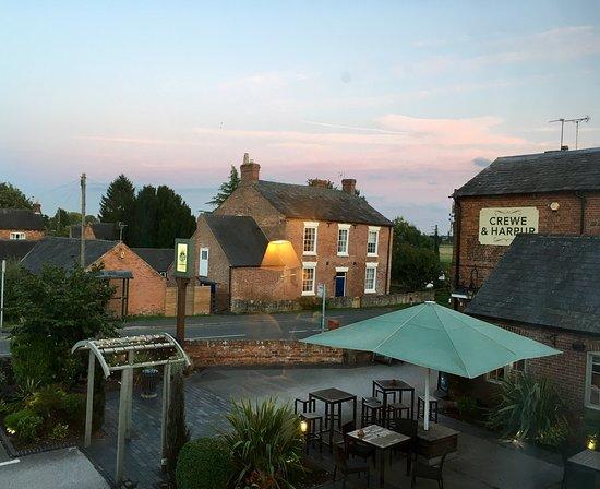 Longnor, UK: From our bedroom window