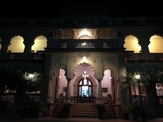 Sandur, الهند: Palace night view