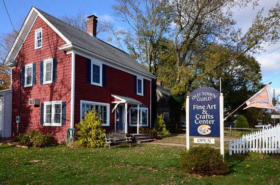 Cutchogue, Нью-Йорк: Fine art gallery & crafts gift shop